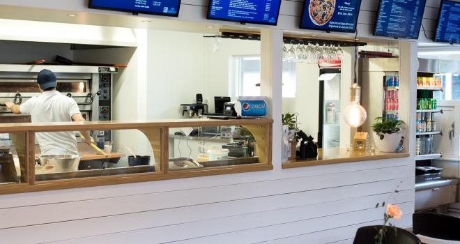Båthusets pizzeria